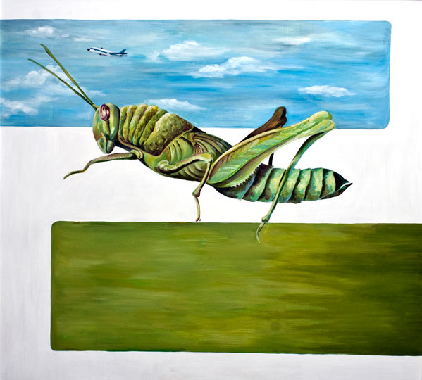 Grasshopper Horizon by Kathleen Griffin